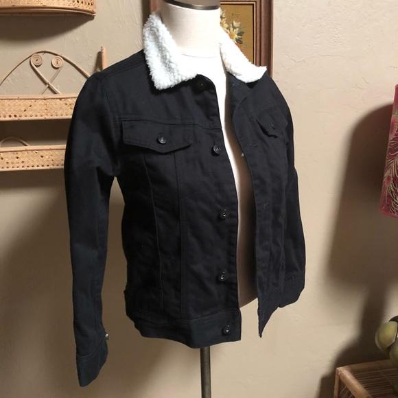 Shaun White Jackets Coats Black Denim Jacket Poshmark